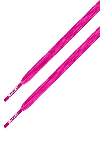Mr. Lacy Schnürsenkel Runnies Flat lipstick-pink vorderansicht 0640031