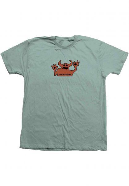 Toy-Machine T-Shirts OG Monster 90´s seaglass-rust vorderansicht 0320031