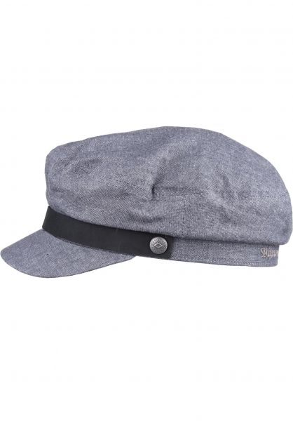 Brixton Hüte Fiddler middlegrey Vorderansicht