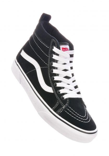 Vans Alle Schuhe Sk8-Hi MTE black-truewhite vorderansicht 0612371