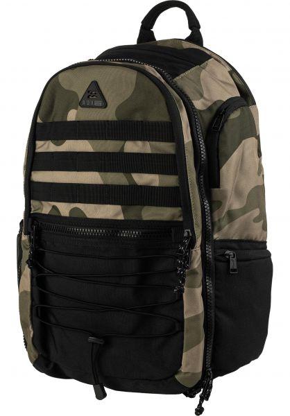 Billabong Rucksäcke Combat Pack camo vorderansicht 0881062