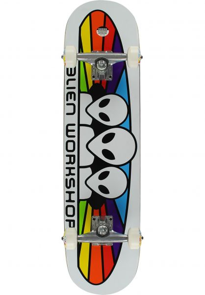 Alien-Workshop Skateboard komplett Spectrum white vorderansicht 0162109