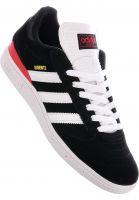 adidas-skateboarding Alle Schuhe Busenitz Pro coreblack-white-scarlet Vorderansicht