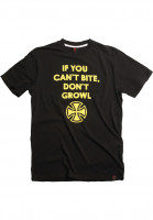 Independent-T-Shirts-Growl-black-Vorderansicht