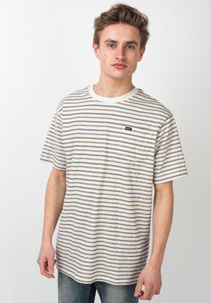 RVCA T-Shirts Runaway antiquewhite vorderansicht 0321845