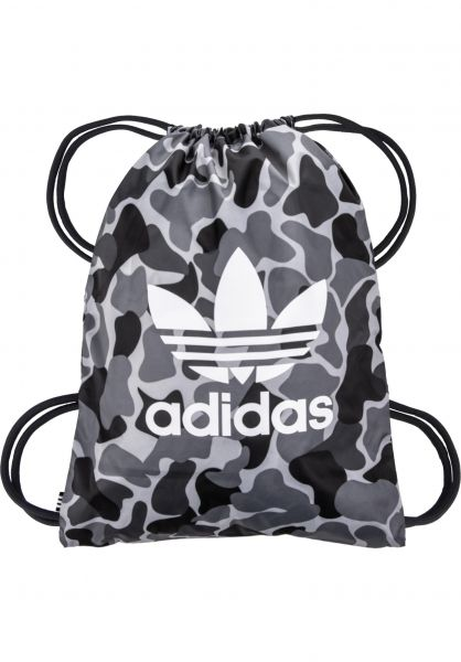 adidas Taschen Gymsack Camo multicolor Vorderansicht