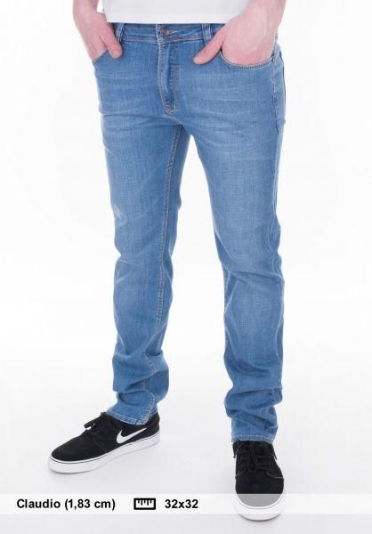 Reell Jeans Skin lightbluewash Vorderansicht