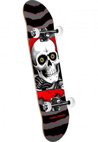 Powell-Peralta Skateboard komplett Ripper Mini one off-silver Vorderansicht 0161167