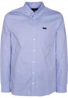 Makia-Hemden-langarm-Flagship-blue-Vorderansicht