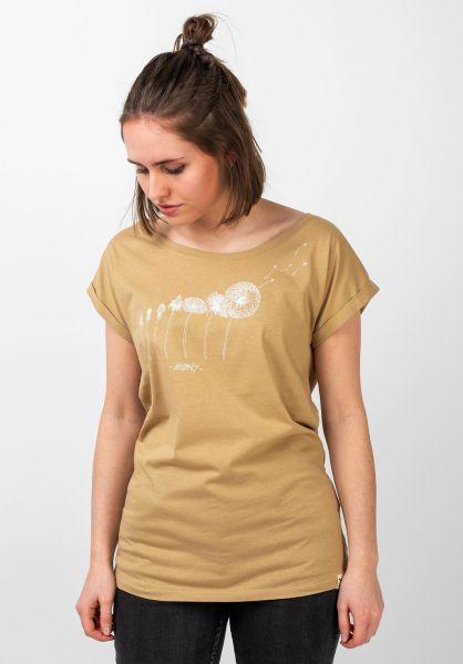 iriedaily T-Shirts Evolution sand vorderansicht 0397633