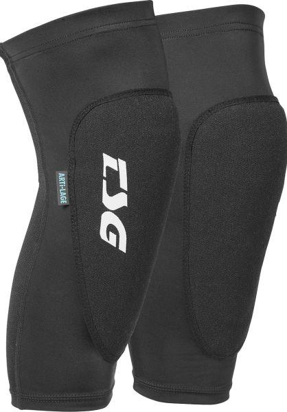 TSG Knie- und Schienbeinschoner Knee-Sleeve 2nd Skin A 2.0 black vorderansicht 0710060