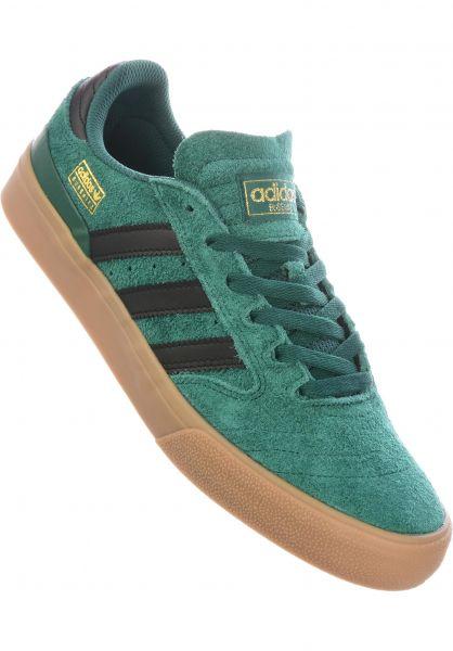 adidas-skateboarding Alle Schuhe Busenitz Vulc II collegiategreen-coreblack-gum4 vorderansicht 0604761