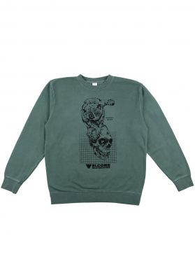 Welcome Real Hell Pigment Dyed Crew Fleece
