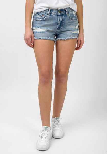 Billabong Jeansshorts Drift Away indigo-rinse vorderansicht 0551850