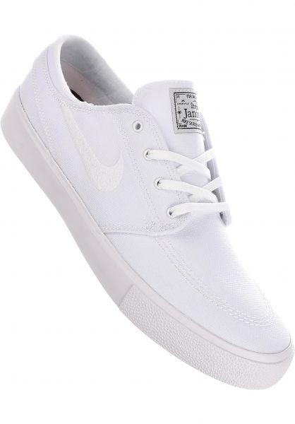 Nike SB Alle Schuhe Zoom Stefan Janoski CNVS RM white-white vorderansicht 0604616