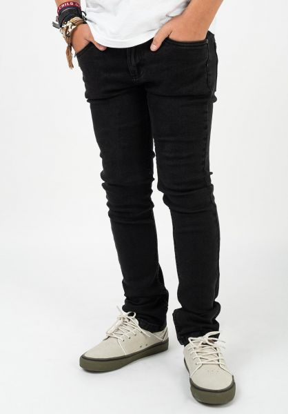 TITUS Hosen und Jeans Tube Fit Kids black-vintage vorderansicht 0540901