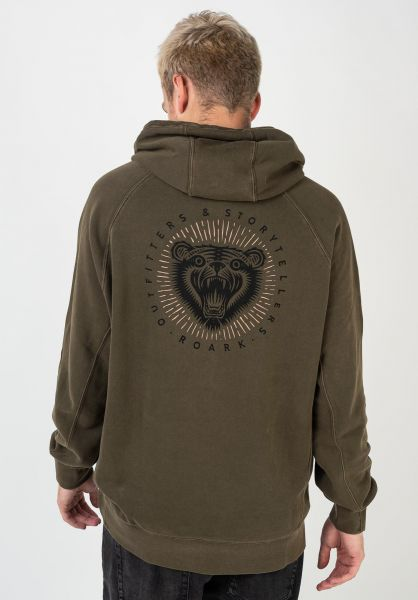 Roark Hoodies Outfitters And Storytellers military vorderansicht 0446058