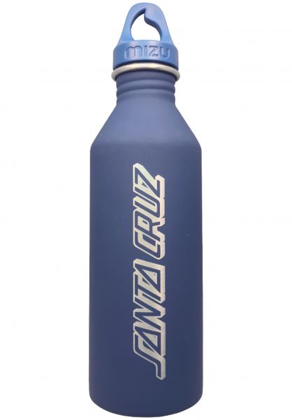 Santa-Cruz Verschiedenes Classic Strip Mizu Water Bottle 27 OZ blue vorderansicht 0972490