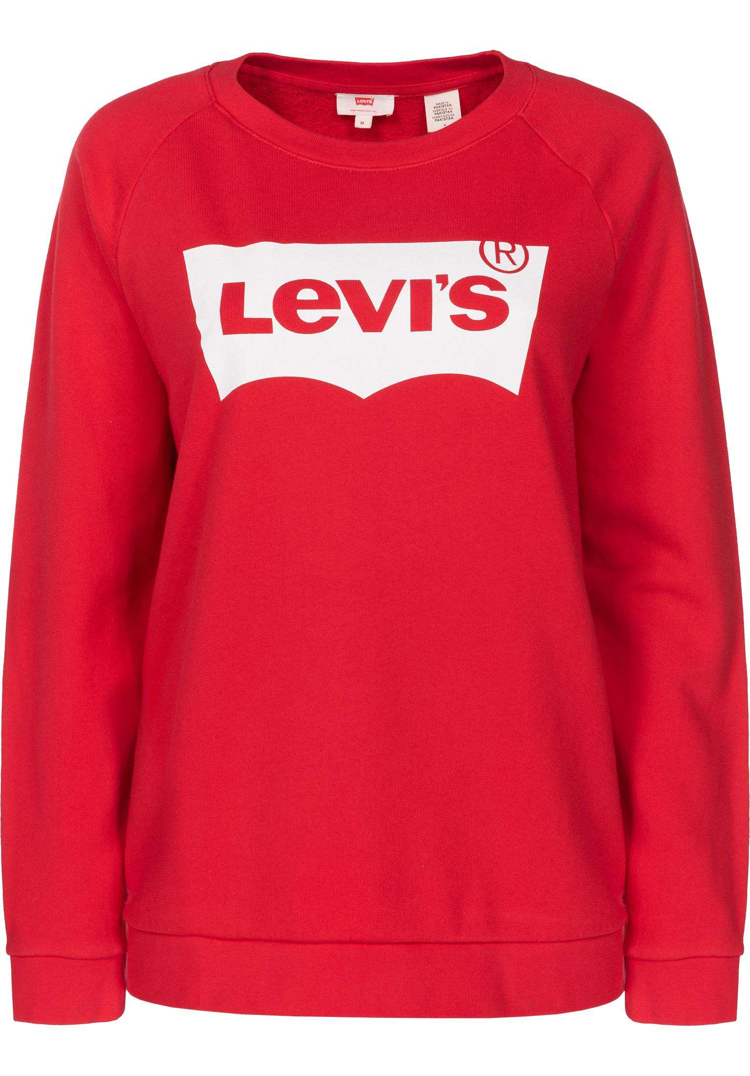 E Relaxed Donna Graphic Red Pullover Levi's Da Felpe Titus In UtqpxtR