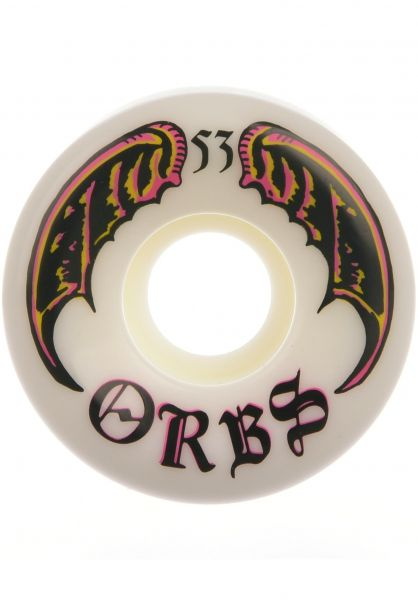 Orbs Rollen Specters Conical 99A white-pink vorderansicht 0134724