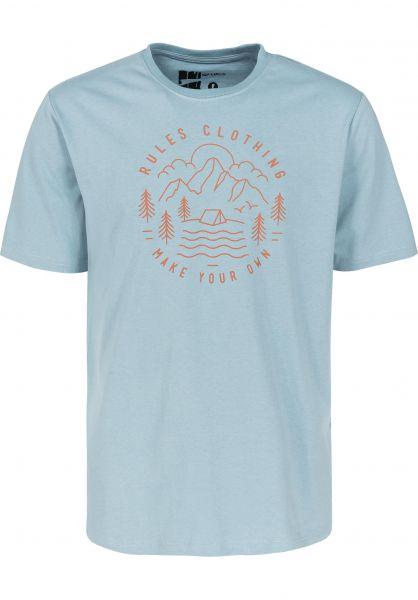 Rules T-Shirts Peak bluegrey unteransicht 0399959