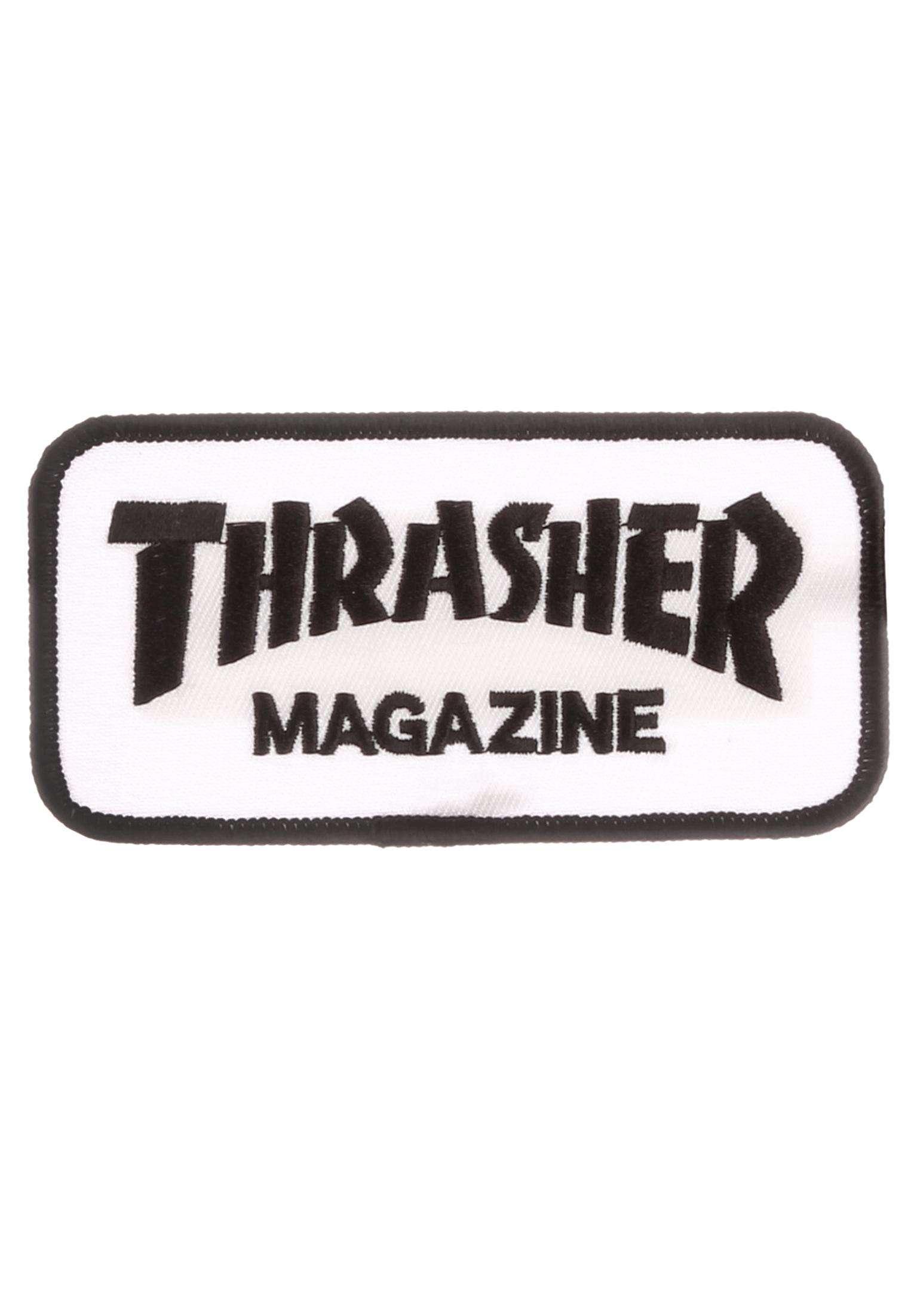 81a138b041b9 Logo Patch Thrasher Verschiedenes in white für Herren | Titus