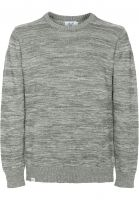 Reell Strickpullover Knitted Striped lightgrey Vorderansicht