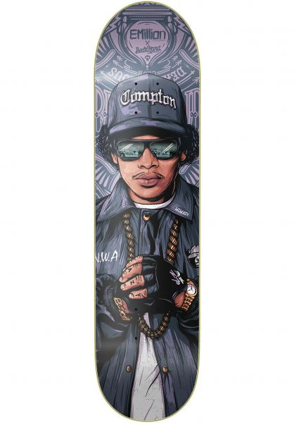 EMillion Skateboard Decks The Dead Famous Eazy multicolored vorderansicht 0261248