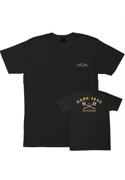 Dark Seas T-Shirts Headmaster black vorderansicht 0396609