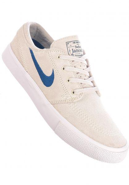 Nike SB Alle Schuhe Zoom Stefan Janoski Wmn summitwhite-courtblue-summitwhite vorderansicht 0612588