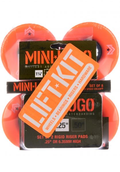 Mini-Logo Rollen A.W.O.L. A-Cut Lift Kit 78A orange vorderansicht 0134259
