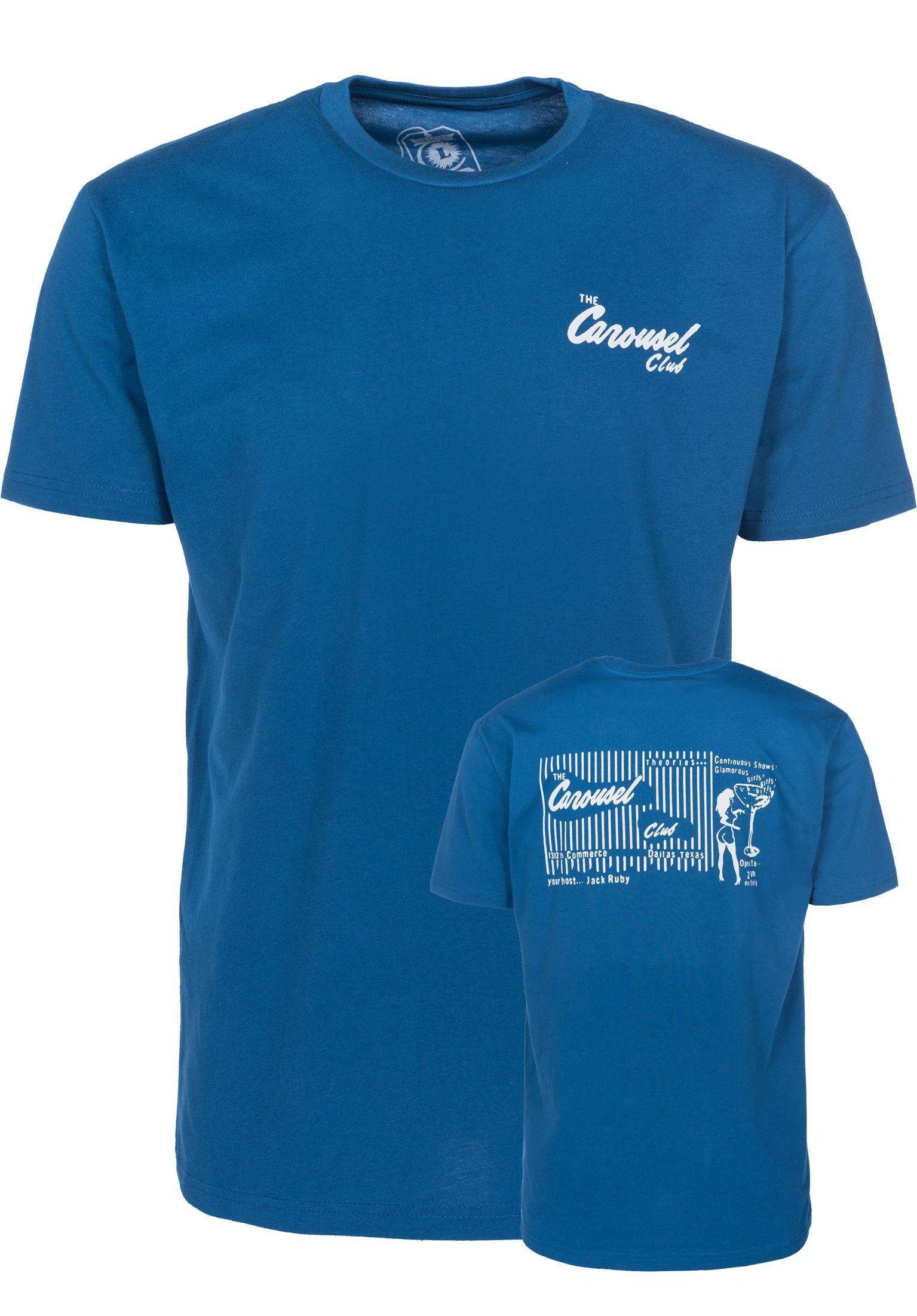 3bc6964862 Carousel Club Theories Of Atlantis T-Shirts in blue-blue for Men