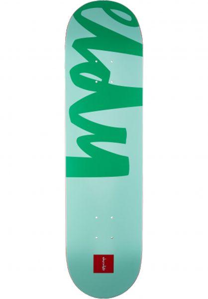 Chocolate Skateboard Decks Eldridge Nickname Eldy green Vorderansicht