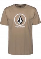 Volcom T-Shirts Crisp sandbrown Vorderansicht