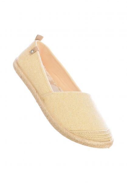Roxy Alle Schuhe Flora II wheat vorderansicht 0612441