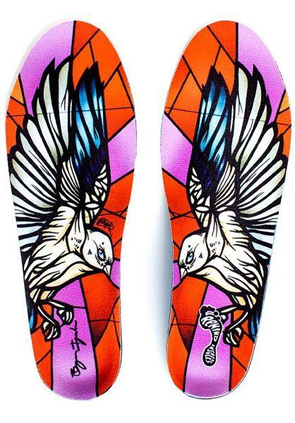 Remind Insoles Einlegesohlen Iguchi Medic Sparrows multicolored vorderansicht 0249168