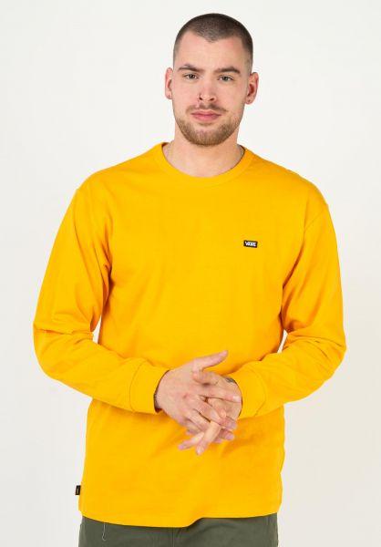 Vans Longsleeves Off The Wall Classic saffron vorderansicht 0383679