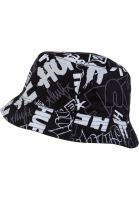 huf-huete-haze-bucket-hat-black-vorderansicht-0580450