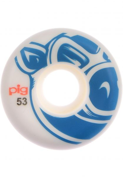 Pig Rollen 3D Conical 101A white-blue vorderansicht 0134171
