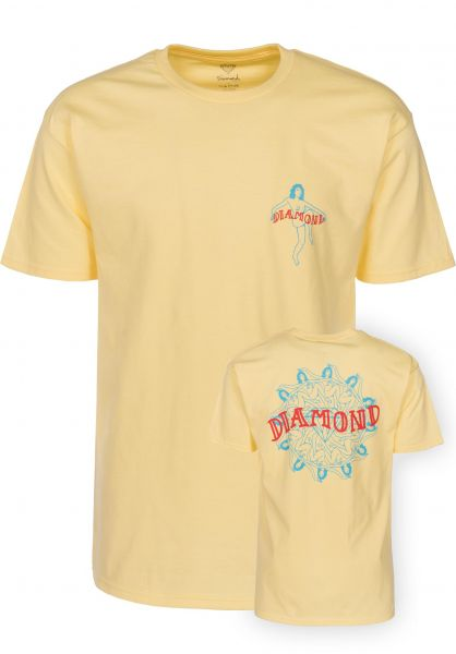 Diamond T-Shirts Birthday banana Vorderansicht