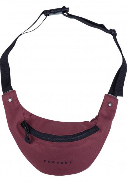 Forvert Hip-Bags Leon burgundy Vorderansicht
