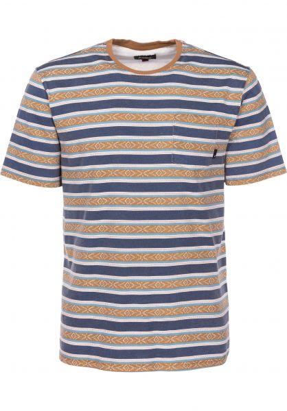 Altamont T-Shirts Cromwell psychstripe Vorderansicht