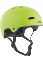 TSG Helme Nipper Solid Color Mini Kids satin green Vorderansicht