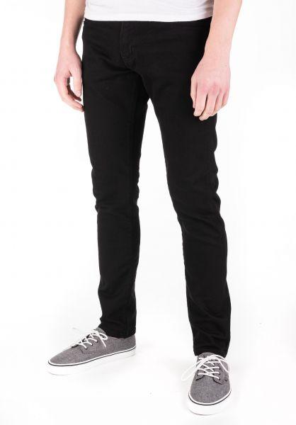 Carhartt WIP Jeans Rebel Pant (Margate) blackrinsed vorderansicht 0269055