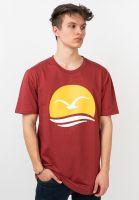 cleptomanicx-t-shirts-big-mocean-rosewood-vorderansicht-0320575