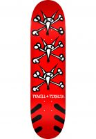 Powell-Peralta Skateboard Decks Vato Rats Birch red Vorderansicht 0118486