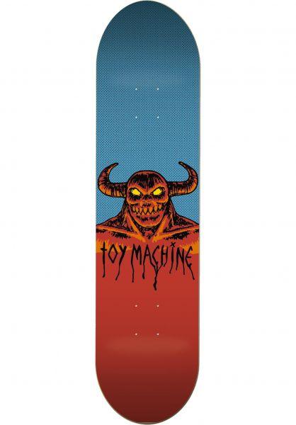 Toy-Machine Skateboard Decks Hell Monster natural Vorderansicht