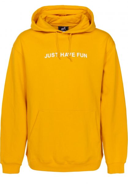 Just Have Fun Hoodies All Caps banana Vorderansicht