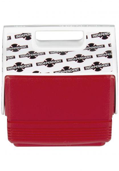 Igloo Verschiedenes Playmate  Mini Independent 4 QT Cooler red-white vorderansicht 0972248