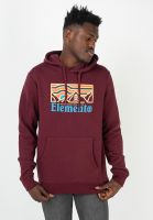 element-hoodies-wander-vintagered-vorderansicht-0446095